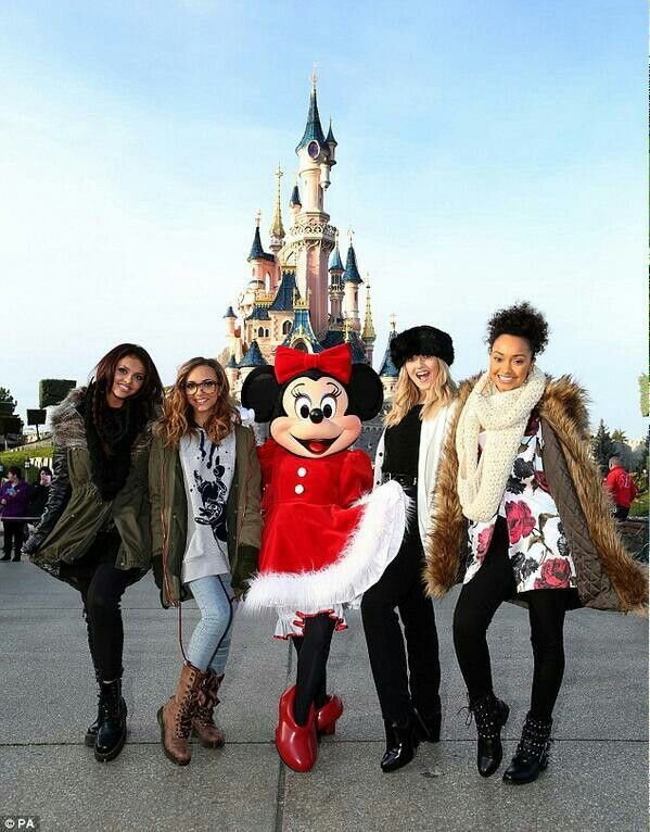 Little mix in Disneyland