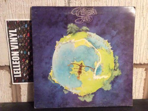 Yes Fragile LP Album Vinyl Record LP K50009 A1/B1 Atlantic Rock 1971 70's Music:Records:Albums/ LPs:Rock:Progressive