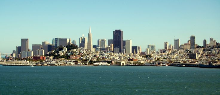 San Francisco Skyline   San Francisco Skyline from Alcatraz