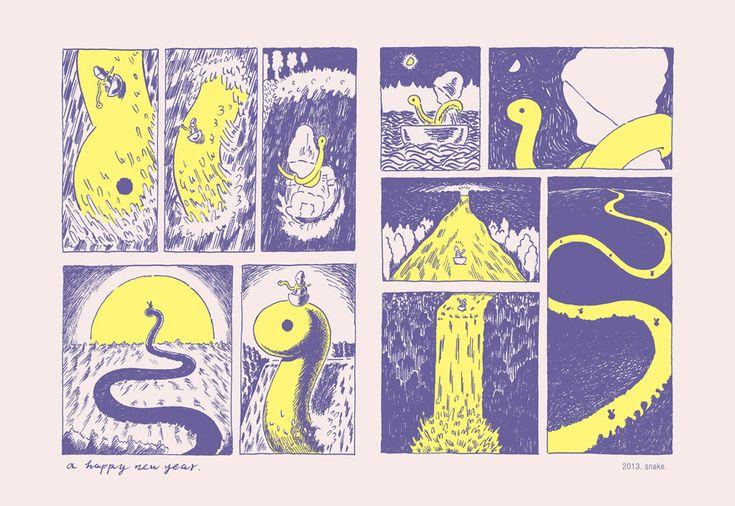 イラストレーター fancomi による「tale」展、顔のない男の子と女の子の世界 – HITSPAPER