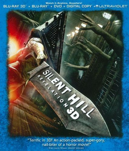 Silent Hill: Revelation 3D [2 Discs] [Includes Digital Copy] [UltraViolet] [3D] [Blu-ray/DVD] [Blu-ray/Blu-ray 3D/DVD] [2012]