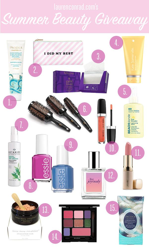 LaurenConrad.com's Summer Beauty Giveaway!