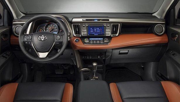 2016 Toyota RAV4 - interior