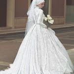 A beleza tradicional dos vestidos das noivas muçulmanas