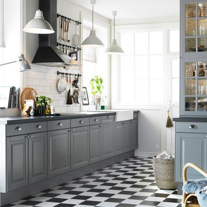 Grey kitchen. For more like this, click the picture or visit RedOnline.co.uk