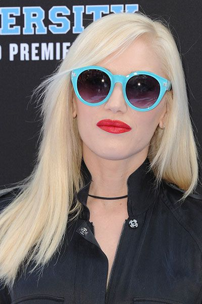 Gwen Stefani. The Ultimate Celebrity Hair Color Wheel   Daily Makeover