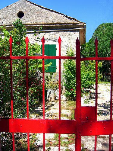 Red gate, Paxos island