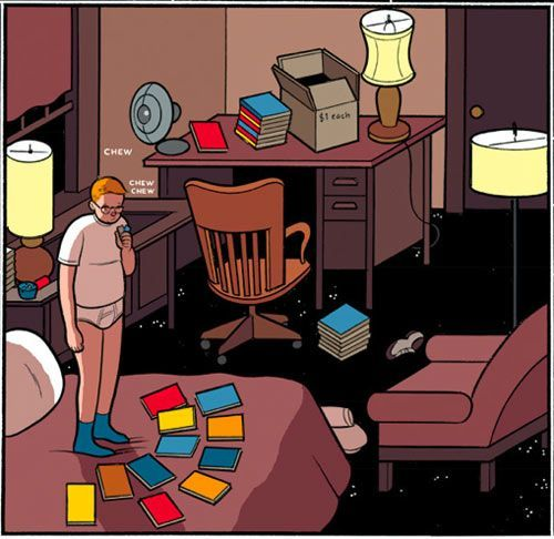 a character analysis of jimmy corrigan in the smartest kid on earth by chris ware Graphic novelist chris ware's latest, building stories for the characters of chris ware's jimmy corrigan: the smartest kid on earth.