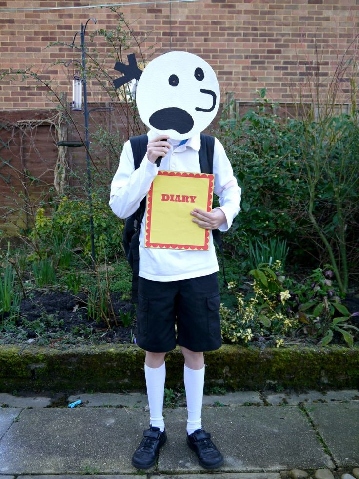 Diary of the Wimpy Kid costume for World Book Day