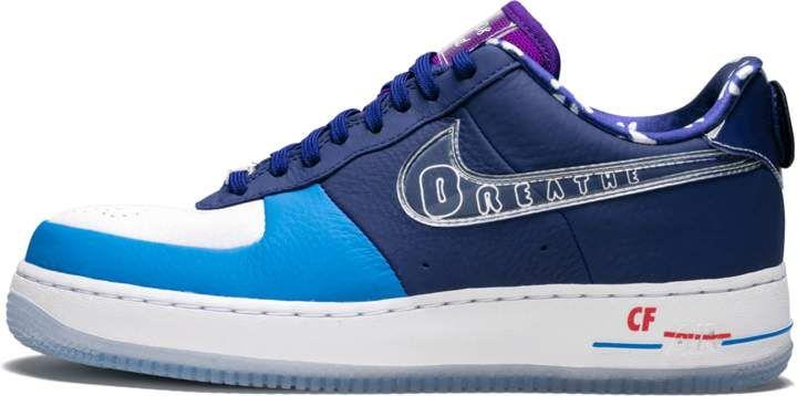 air force 1 donna blu