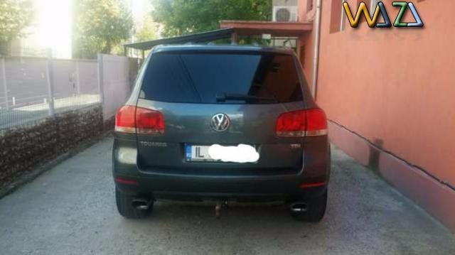 Pret 8300 EUR - VW Touareg R5-174cp in stare foarte buna, din 2004, diesel, rulaj 211.000 km, capacitate motor 2 500 cm3 fara accident, numar... - Anunt postat gratuit pe 60 grupuri de facebook, twitter si pinterest