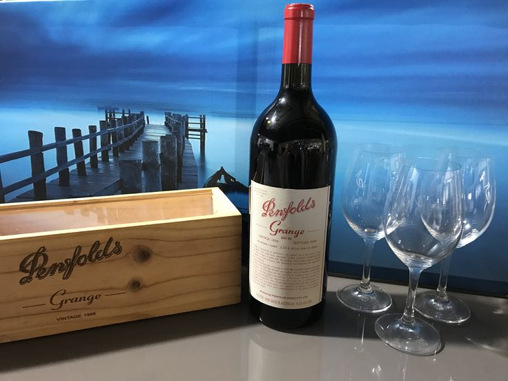 Fine Wine Lovers!  Pull up a Stool & Sip on this Fine Bottle of Penfolds Grange 1998 Bold Red Wine. Simply Bid Here: