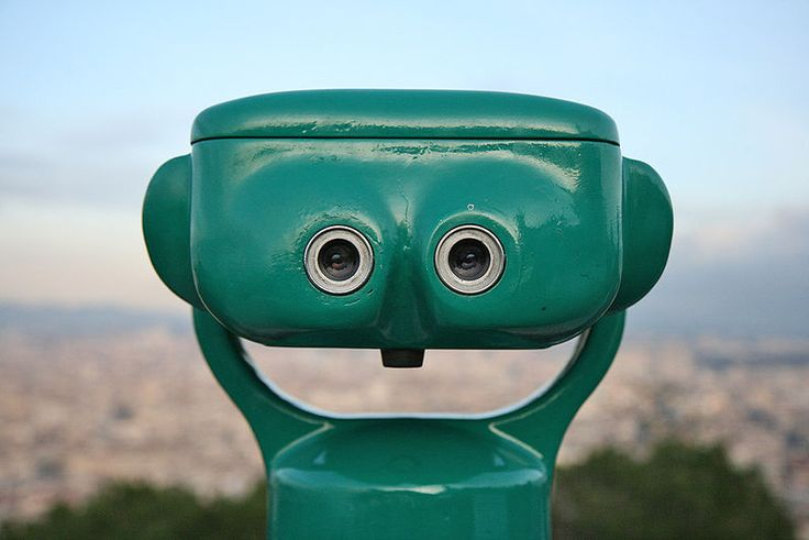 see your happy world through my eyes, don't forget to insert a quarter... lol