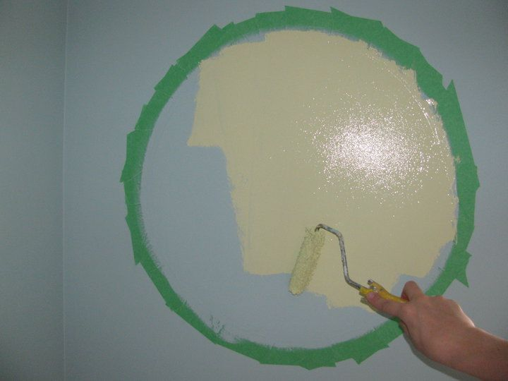 How To Paint A Perfect Circle On The Wall Kids Space