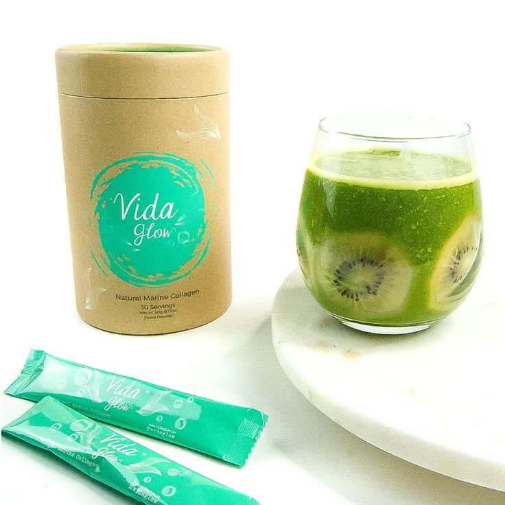Did you know our blends are highly bio-available? This means it has a significant absorption rate above 90%, compared to pills and tablets average from 20 - 30%. AH-mazing! ✨ Try this delicious smoothie recipe with a sachet of original Vida Glow! 💚 You'll benefit from the replenishment of collagen levels in your body to improve your hair, skin and nails as well as the absorption of vitamin C, fibre, potassium and loads of antioxidants! - Vida Glow original marine collagen - 1 kiwi - Handful…