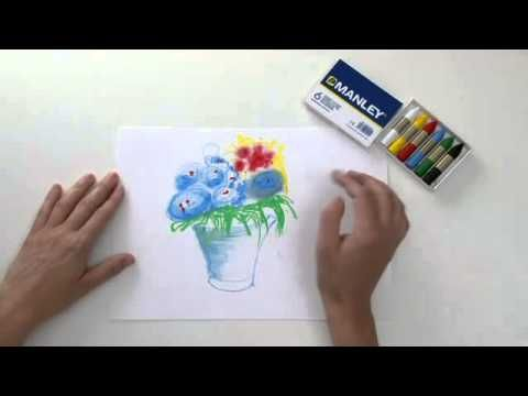 ▶ Degradados de colores con ceras Manley - YouTube