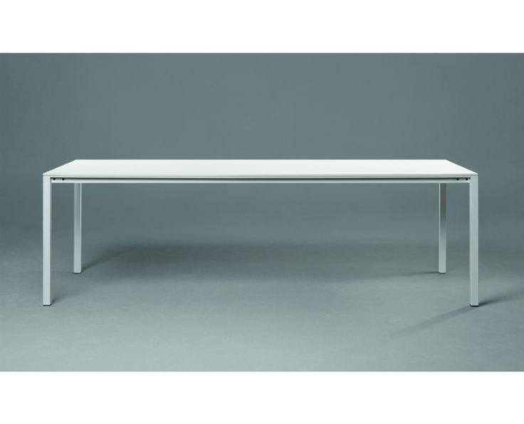 JANUA S 600 TAFEL HPL, minimalisme met kunsthars blad, zuid Duits ambacht, kies je uitvoering en bestel nu in onze webshop, inclusief levering en montage