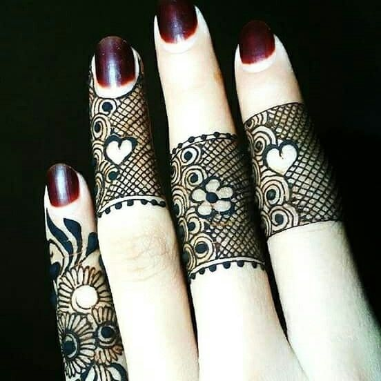 Mehndi Designs For Fingers S Dailymotion : Images about mehndi on pinterest