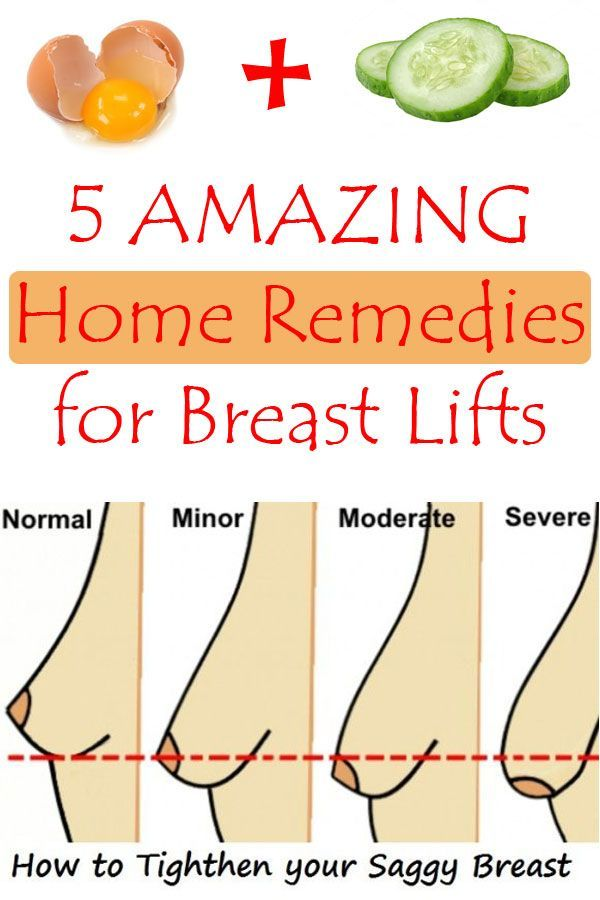 5 Amazing Home Remedies for Breast Lifts - Daily Beauty Pin