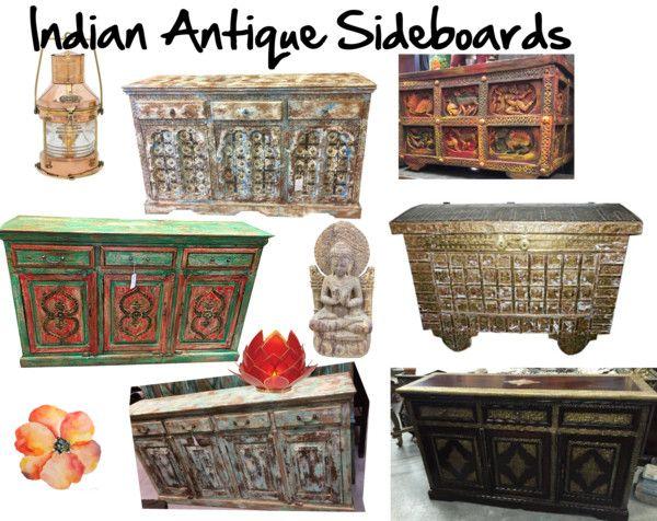 Mogul interior designs rustic sideboards buffets indian for Mogul interior designs