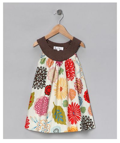 No tutorial, but I *know* I can make this dress.... looks so easy!