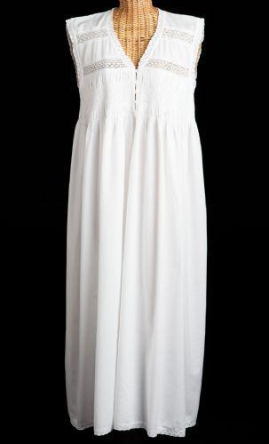 cotton nightdress, cotton, cotton nightgown, nighty, white, victorian,
