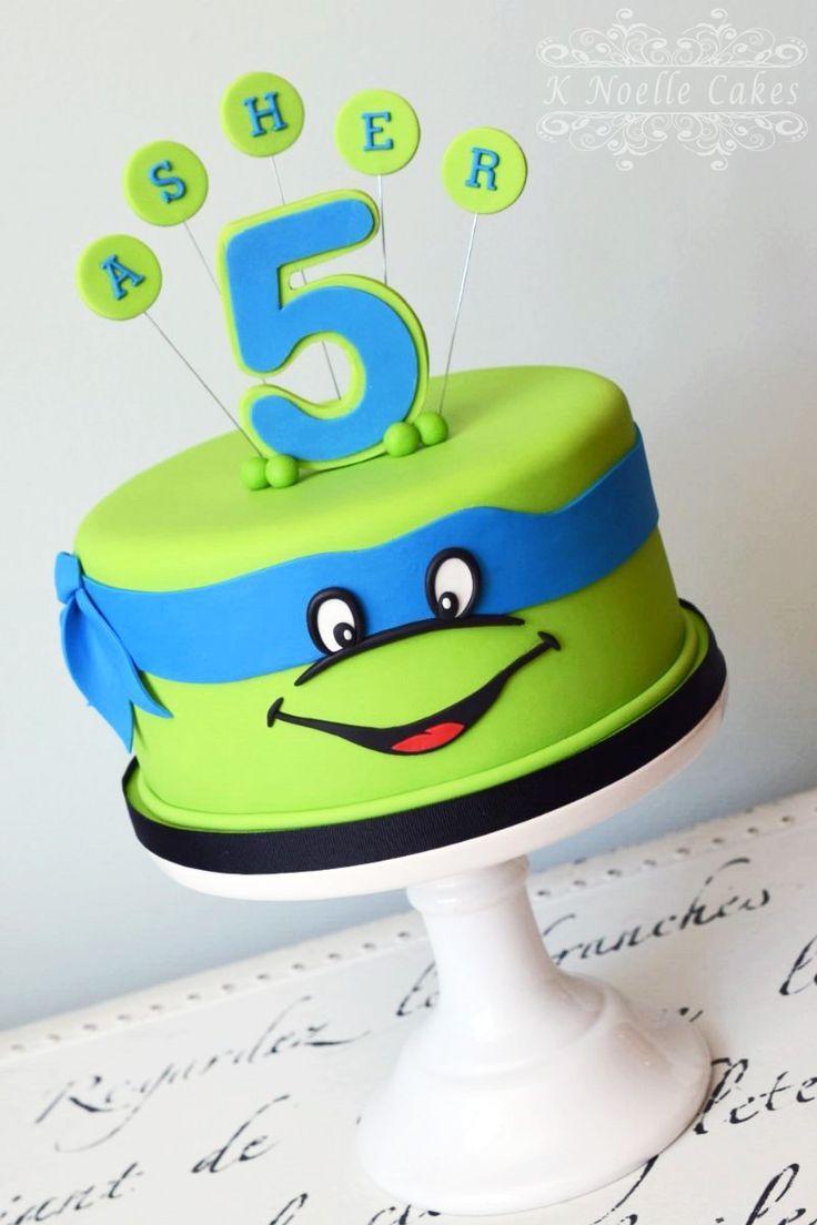 25+ Amazing Image of Tmnt Birthday Cakes