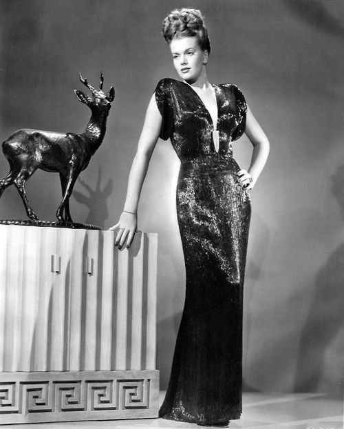 Janis Paige 1947......Uploaded By  www.1stand2ndtimearound.etsy.com