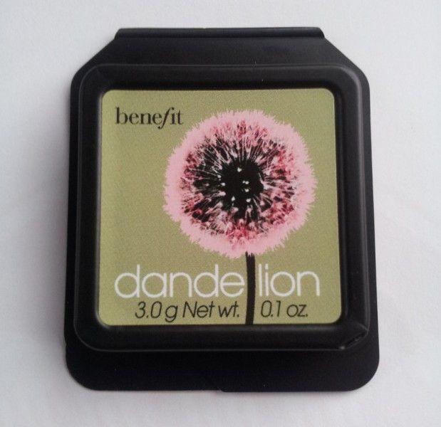 Benefit Dandelion Review