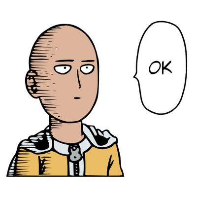 One Punch Man - Saitama Ok Color