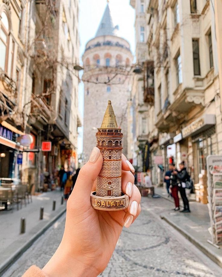 """Map of Europe on Instagram: """"Galata Tower ❤ Is…"""