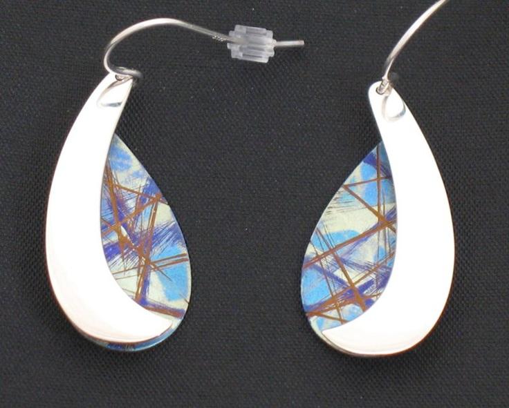 Jean-Yves Nantel titanium and silver jewelry