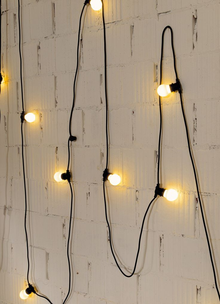 Ledlampen lichtslinger, zwart - House Doctor - 99 euro - via pietmoodshop