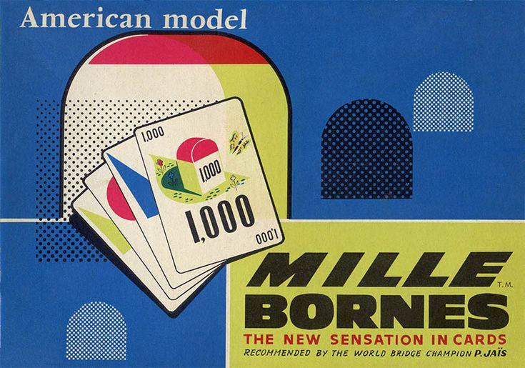 17 best images about vintage mille bornes on pinterest for Dujardin 1000 bornes