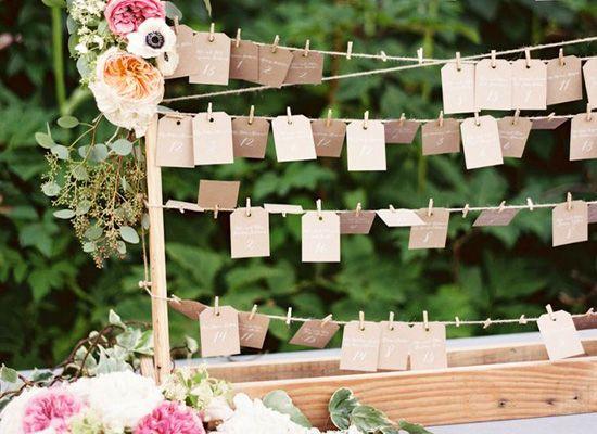Matrimonio.it | 10 #idee originali per il #tableau di #matrimonio #diy #wedding #faidate