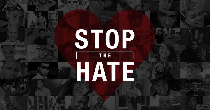 Al odio, ni agua