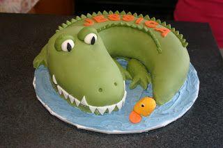 Serendipity Cake Design: Crocodile Love