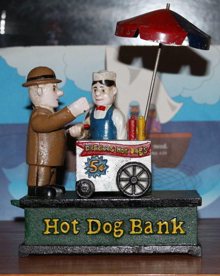 C Hawthorne Direct LLC Cast Iron Hot Dog Bank