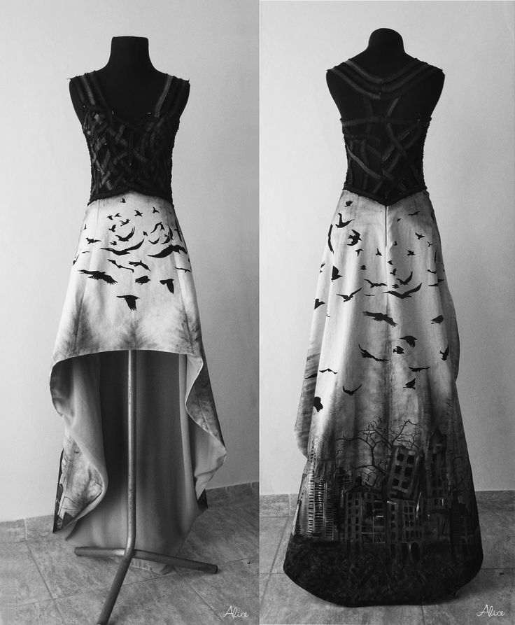 Katatonia inspired Dress, by Alice Dz