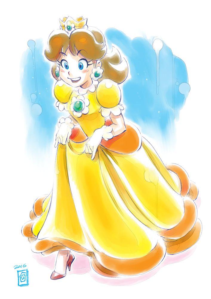 Princess Daisy by Smolb on DeviantArt #Mario #Nintendo #fanart