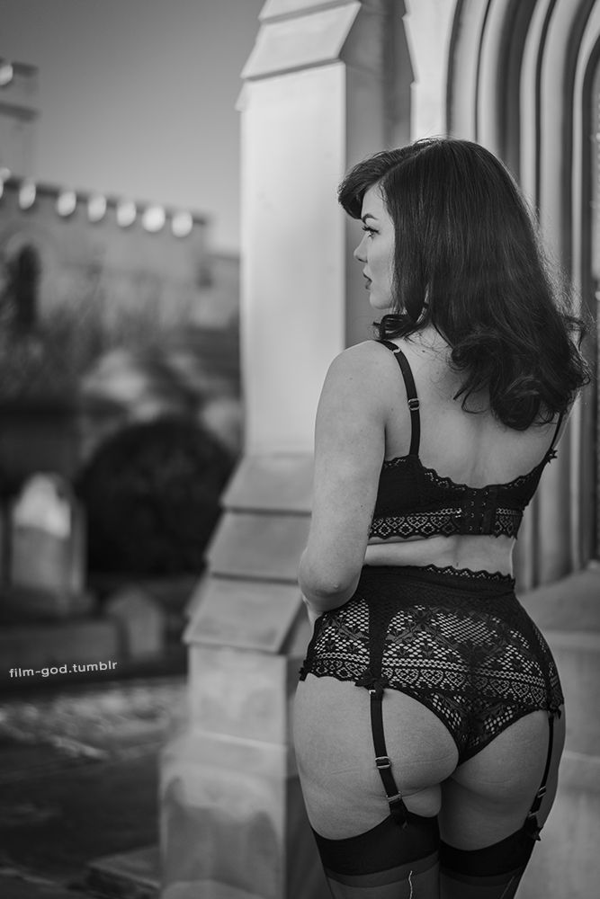Shae wearing Agent Provocateur 'Stone' set ~ Photographer Q. Oliver
