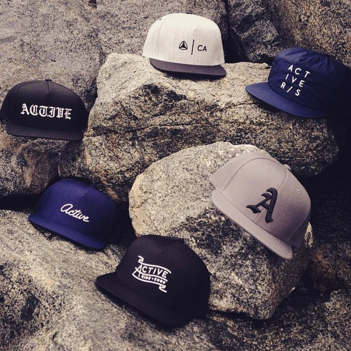Sneak preview of new hats coming to Active Ride Shop.