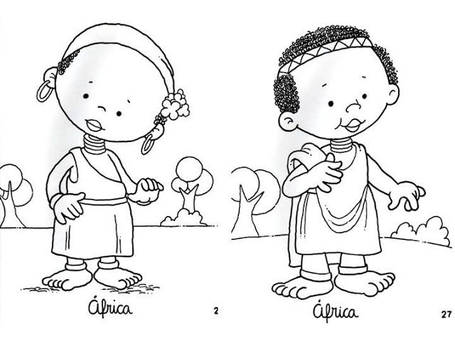 f african american coloring pages - photo #20
