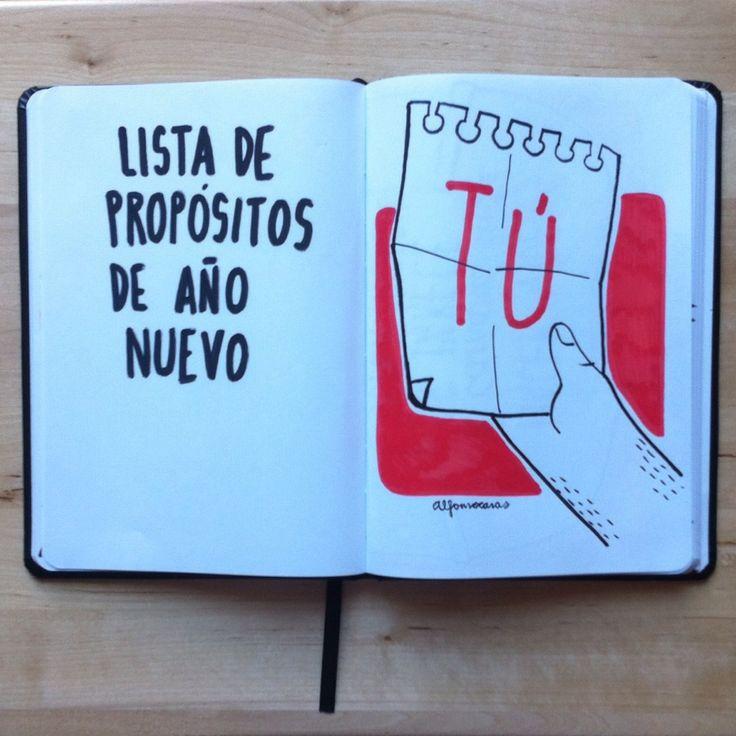 Propósitos de año nuevo... (Alfonso Casas)