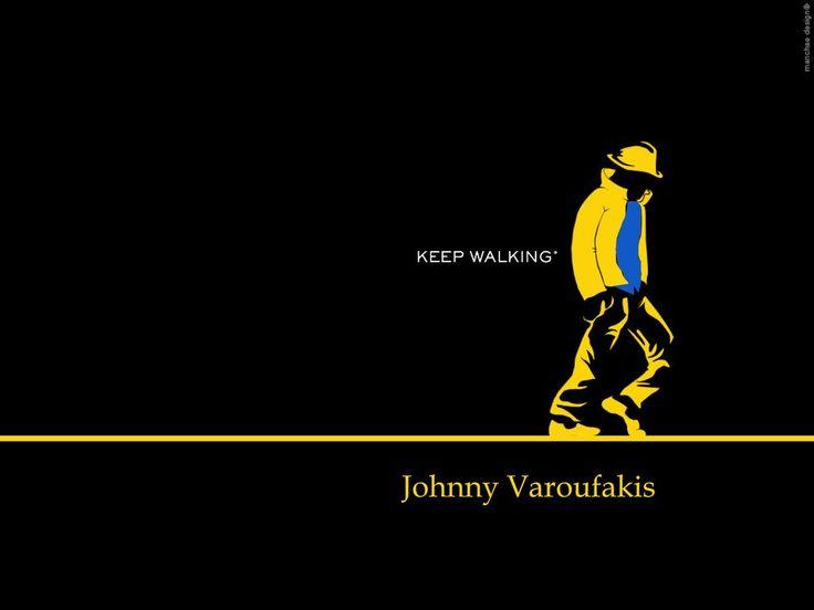 Keep walking Yanis #Varoufakis