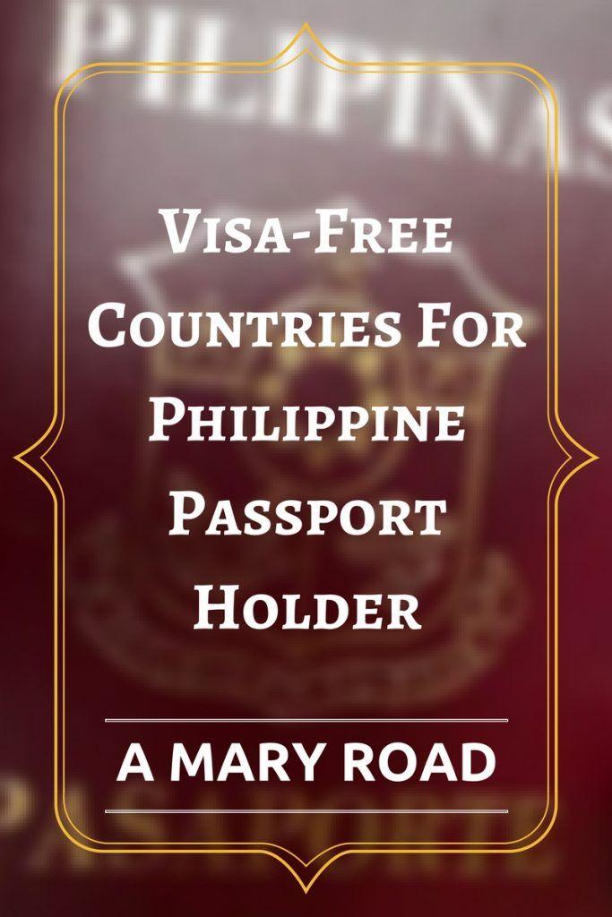 FREE VISA for Philippines Passport Holder plus visa on arriving for Philippines passport holder, e-visa for Philippines passport holder, how to use you other visa in your for Philippines passport.