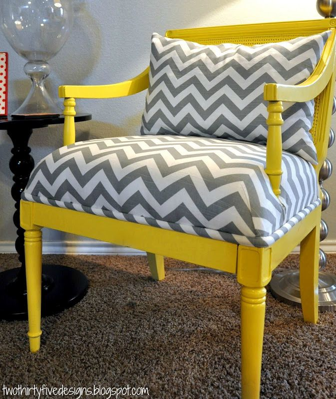 Two Thirty-Five Designs: Master Chair Redo