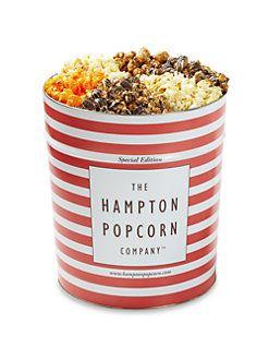 The Hampton Popcorn Company - Variety Popcorn Tin