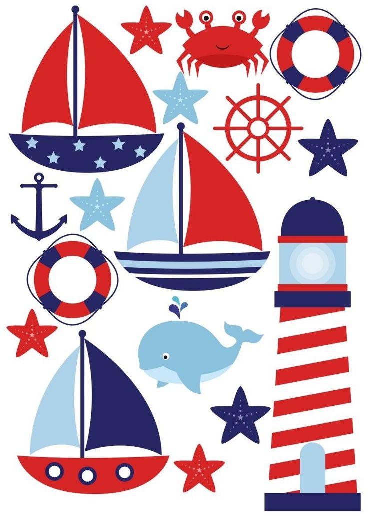 Детские картинки для оформления морская тематика