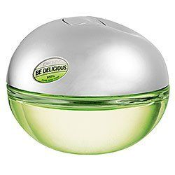 DKNY Be Delicious Mini Eau de Parfum for Women by Donna Karen 0.24 oz. by DKNY. $9.73. Style: Free-spirited. Refreshing. Unique. Notes: American Apple, Cucumber, Grapefruit, Candid Magnolia, Tuberose, White Muguet, Rose, Violet, Sandalwood, Tender Skin Accord, Blonde Woods, White Amber. Served in a sleek metal and glass apple bottle, this juicy fragrance combines the scent of apple with a sophisticated blend of exotic flowers and sensual woods. A modern feast f...